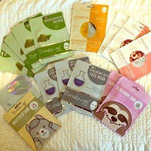 💥 Sheet mask bundle - 15 Creme Shop masks 💥